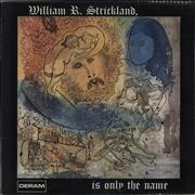 Click here for more info about 'William R. Strickland - William R. Strickland, Is Only The Name'