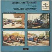 William Rushton The Railway Stories UK vinyl LP Promo
