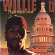 Willie D I'm Goin' Out Lika Soldier - shrink USA vinyl LP