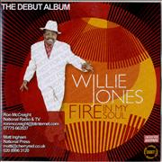 Click here for more info about 'Willie Jones - Fire In My Soul'