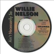 Click here for more info about 'Willie Nelson - Ain't Necessarily So'