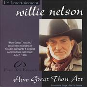 Click here for more info about 'Willie Nelson - How Great Thou Art'