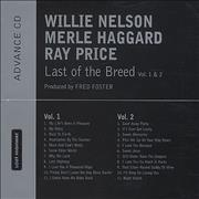 Click here for more info about 'Willie Nelson - Last Of The Breed'
