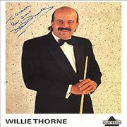 Click here for more info about 'Willie Thorne - Autographed Publicity Photocard'