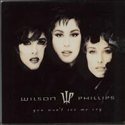Click here for more info about 'Wilson Phillips - You Don't See Me Cry - Booklet Sleeve'