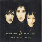 Click here for more info about 'Wilson Phillips - You Won't See Me Cry'