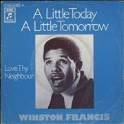 Click here for more info about 'Winston Francis - A Little Today A Little Tomorrow'