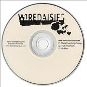 Click here for more info about 'Wire Daisies - Make Everything Change EP'