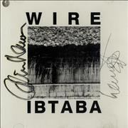 Click here for more info about 'Wire - Ibtaba - Autographed'