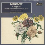 Click here for more info about 'Wolfgang Amadeus Mozart - 6 Sonatas For Flute And Harpsichord, K.10-15'