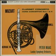 Click here for more info about 'The London Symphony Orchestra - Mozart: Clarinet Concerto / Horn Concerto Nos. 1 & 3'
