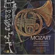 Click here for more info about 'Wolfgang Amadeus Mozart - Clarinet Concerto / Horn Concerto No. 1 / Horn Concerto No. 3'