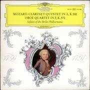 Click here for more info about 'Wolfgang Amadeus Mozart - Clarinet Quintet in A, K.581 & Oboe Quartet in F, K.370'
