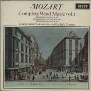 Click here for more info about 'Wolfgang Amadeus Mozart - Complete Wind Music Vol. 1 & 2 - 1st - WB'