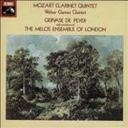 Click here for more info about 'Wolfgang Amadeus Mozart - Mozart Clarinet Quintet / Weber Clarinet Quintet'