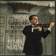 Click here for more info about 'Wolfgang Amadeus Mozart - Mozart: Complete Works For Violin And Orchestra'