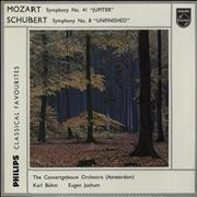 Click here for more info about 'Wolfgang Amadeus Mozart - Mozart 'Jupiter'  / Schubert  'Unfinished''
