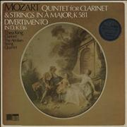 Click here for more info about 'Quintet For Clarinet & Strings In a Major, K581 / Divertimento In D, K136'