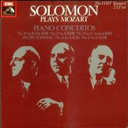 Click here for more info about 'Wolfgang Amadeus Mozart - Solomon plays Mozart Piano Concertos'