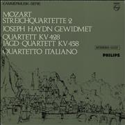 Click here for more info about 'Wolfgang Amadeus Mozart - String Quartet in E flat, K.428 & String Quartet in B flat, K.458