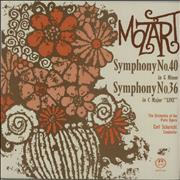 Click here for more info about 'Wolfgang Amadeus Mozart - Symphony No. 40 in G Minor / Symphony No. 36 in C Major 'Linz''