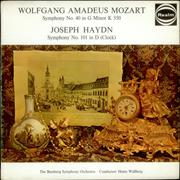 Click here for more info about 'Wolfgang Amadeus Mozart - Symphony No. 40 in G minor / Symphony No. 101 in D, 'Clock''