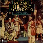 Click here for more info about 'Wolfgang Amadeus Mozart - The Early Symphonies: No.1 K.16, No.4 K.19, No.5 K.22, etc'