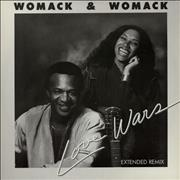 Click here for more info about 'Womack & Womack - Love Wars - Extended Remix - Picture Sleeve'