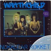 Click here for more info about 'Wrathchild - Nukklear Rokket - Purple Vinyl'