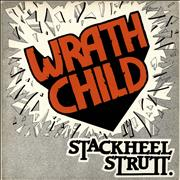 Click here for more info about 'Wrathchild - Stackheel Strutt - Red vinyl'