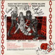 Click here for more info about 'Wrathchild - Stackheel Strutt - Red vinyl - Autographed'
