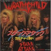 """Wrathchild Stakk Attakk Japan 7"""" vinyl"""