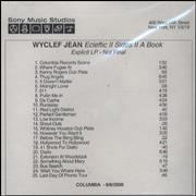 Click here for more info about 'Wyclef Jean - Ecleftic II Sides II A Book'
