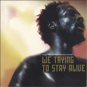 Click here for more info about 'Wyclef Jean - We Trying To Stay Alive'