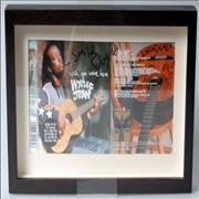 Click here for more info about 'Wyclef Jean - Wish You Were Here - Autographed & Framed Artwork'