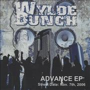Click here for more info about 'Wylde Bunch - Advance EP'