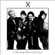 Click here for more info about 'X - Burning House Of Love'