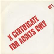 Click here for more info about 'X Certificate - For Adults Only'