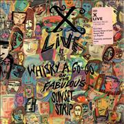 Click here for more info about 'X - Live At The Whisky A Go-Go On the Fabulous Sunset Strip'