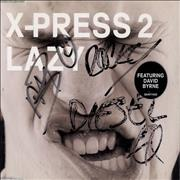 Click here for more info about 'X-Press 2 - Lazy - Autographed'