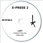 Click here for more info about 'X-Press 2 - Lazy - Freeform Five Mix'