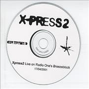Click here for more info about 'X-Press 2 - Live On Radio One's Breezeblock'