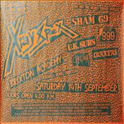 Click here for more info about 'X-Ray Spex - Brixton Academy Tour Poster'