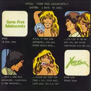 Click here for more info about 'X-Ray Spex - Germ Free Adolescents - 4-Pr + P/S'