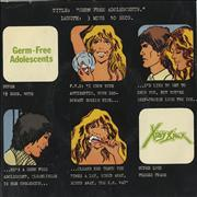 Click here for more info about 'X-Ray Spex - Germ Free Adolescents + Sleeve'