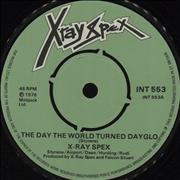 Click here for more info about 'X-Ray Spex - The Day The World Turned Dayglo'