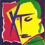 Click here for more info about 'XTC - Drums And Wires + lyric insert'