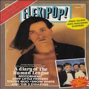 Click here for more info about 'XTC - Flexipop! Magazine Issue 16 + Red Flexi'