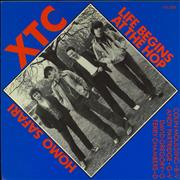 Click here for more info about 'XTC - Life Begins At The Hop - Clear Vinyl'