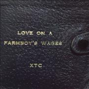 Click here for more info about 'XTC - Love On A Farmboy's Wages'